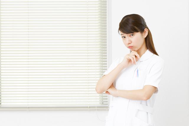 看護師、不安