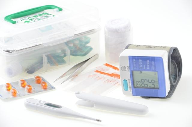 体温計、血圧計、医療機器