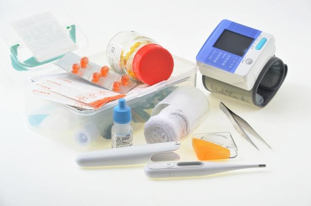 医療機器、医薬品、体温計