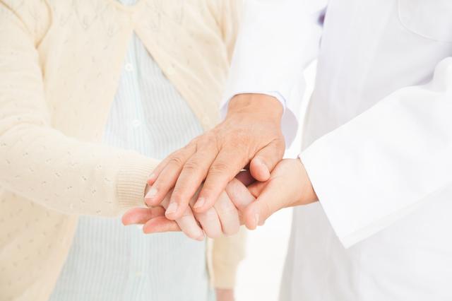 看護師、患者