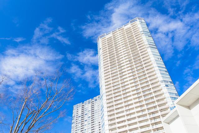 高級住宅、高収入、高層マンション